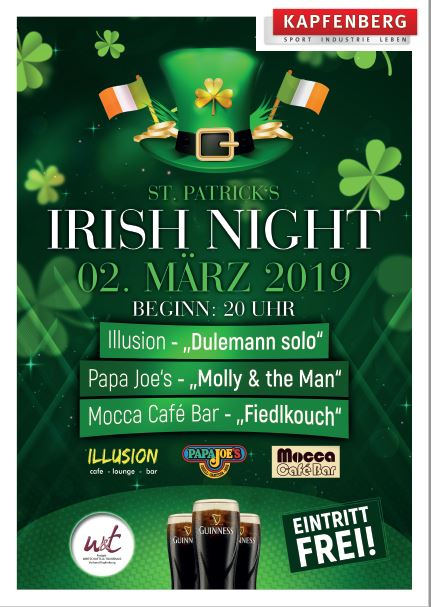 02.03 - St. Patrick´s Irish Night